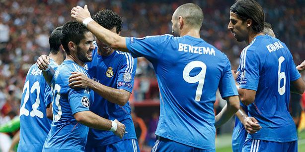 Chaine TV Real Madrid Schalke 04