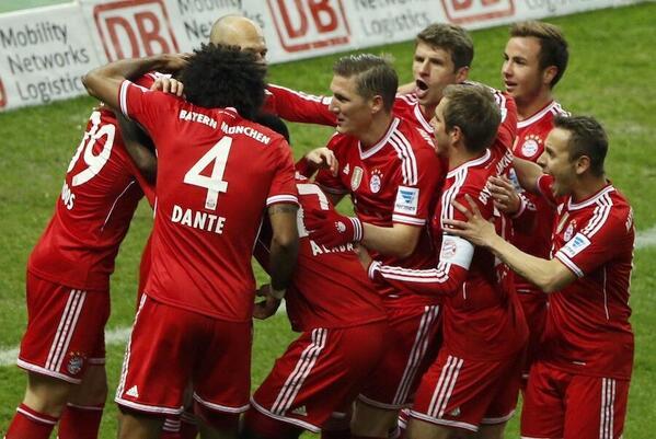 Champion d'Allemagne Bayern Munich
