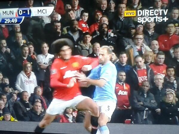 Fellaini Zabaleta