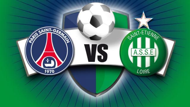 Vidéo buts PSG Saint Etienne résumé