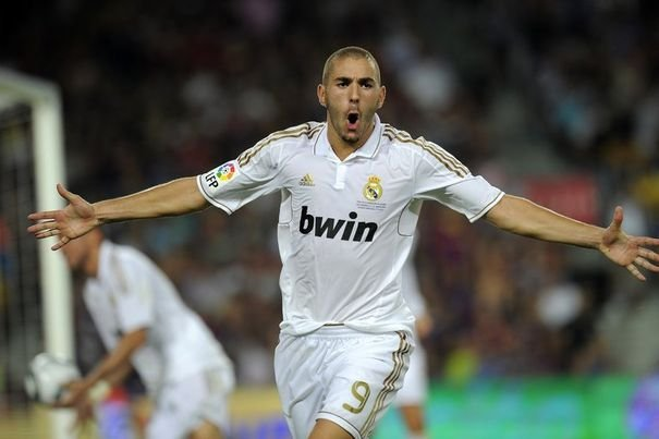 but Benzema Barcelone