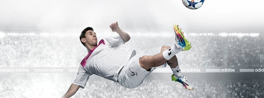 Image de couverture de la page officielle de Leo Messi