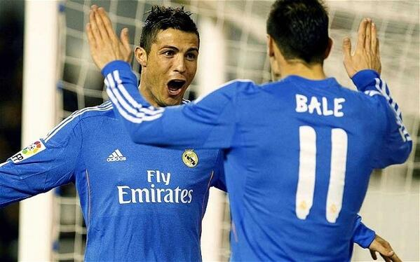 Cristiano Ronaldo Garteh Bale