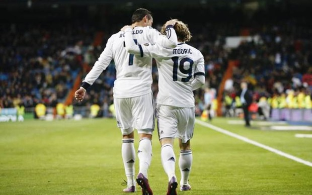 Cristiano Ronaldo-Luca-Modric
