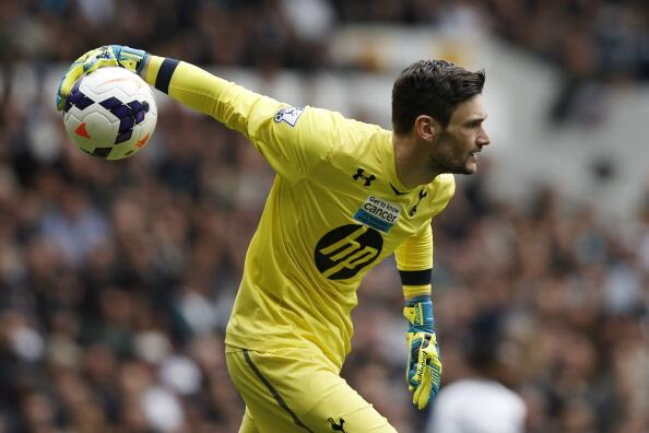 l 39 arr t d 39 hugo lloris en europa league avec tottenham. Black Bedroom Furniture Sets. Home Design Ideas