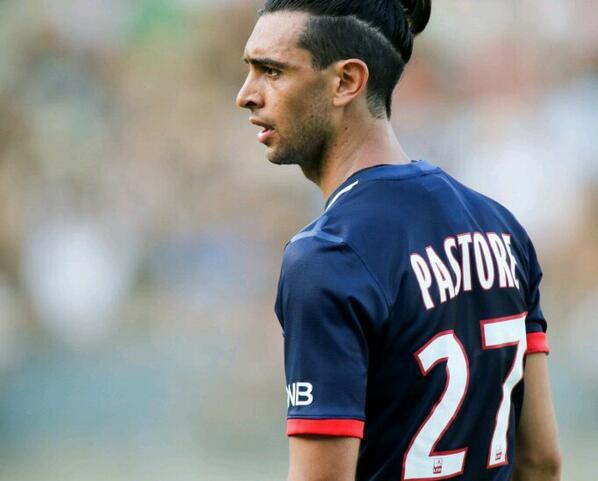 Javier pastore a coup ses cheveux cause de walter - Coupe de cheveux de footballeur ...