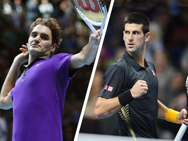 chaine TV Federer Djokovic