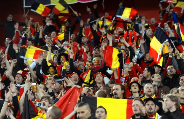 Fan belgium tribune football tennis vid os actualit - Coupe du monde belgique 2014 ...