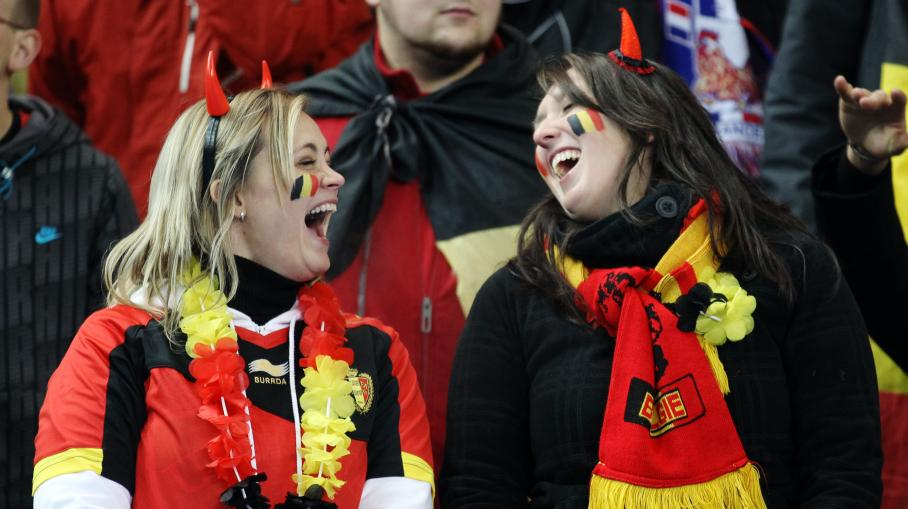 Supportrices belgique coupe du monde 2014 coupe du monde 2018 football fifa russie - Coupe du monde belgique 2014 ...