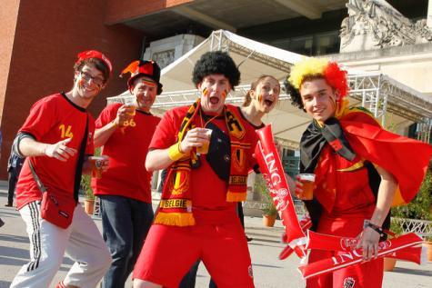 Fans belgique coupe du monde 2014 coupe du monde 2018 football fifa russie - Coupe du monde belgique 2014 ...