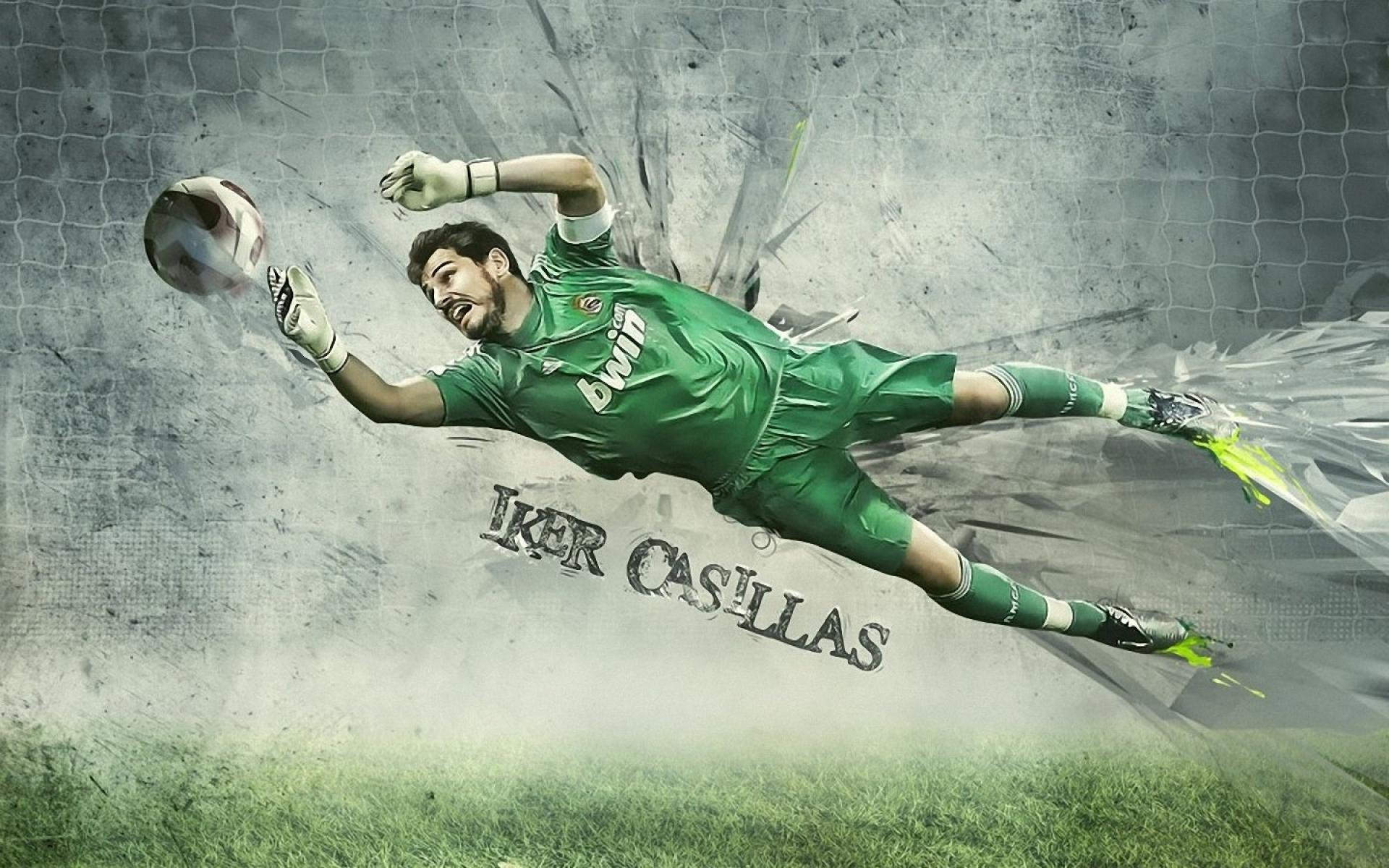 iker casillas Real Madrid gardien