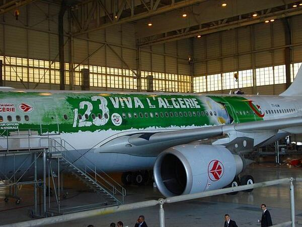 L 39 avion de l 39 alg rie pour la coupe du monde 2014 au br sil - Algerie allemagne coupe du monde 2014 ...