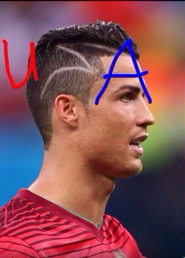 Роналдо новая причёска фото