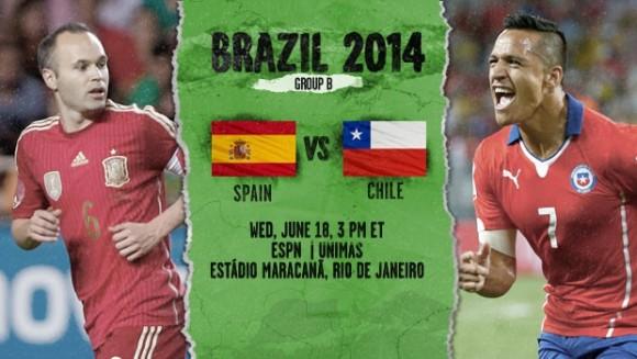 Espagne-Chili