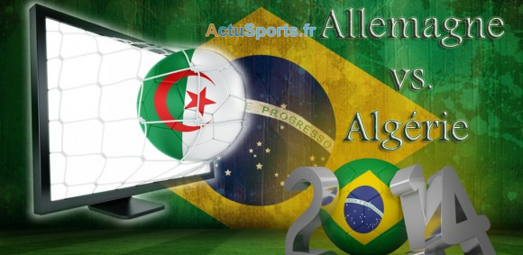 streaming allemagne algérie Mondial 2014 8e