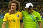 David Luiz et Thiago Silva