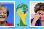 Angela Merkel vs Dilma Roussef