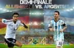 Finale Allemagne-Argentine Coupe du Monde 2014