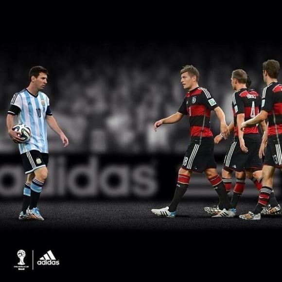 Finale de la coupe du monde allemagne argentine adidas - Equipe argentine coupe du monde 2014 ...