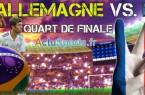 heure et date match allemagne-france- quart de finale