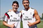 Cristiano Ronaldo et James Rodriguez
