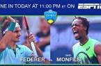 Résumé Federer-Monfils (6-4/4-6/6-3) Cincinnati