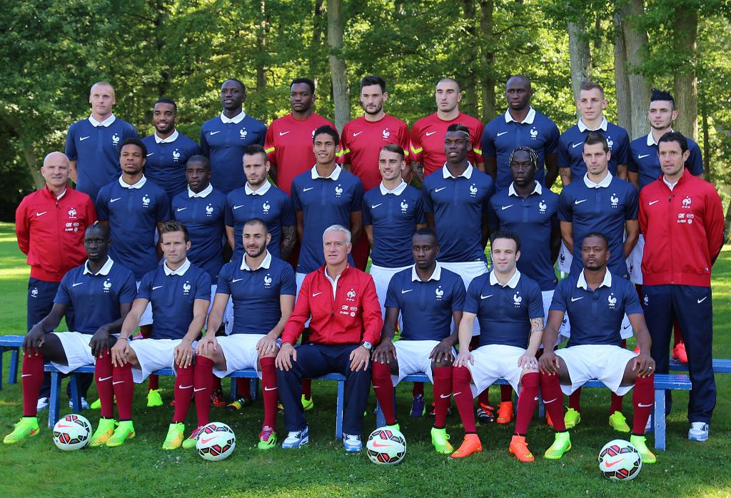 Photo officielle equipe de france saison 2014 2015 - Classement equipe de france coupe du monde 2014 ...
