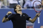 R Federer US Open 2014