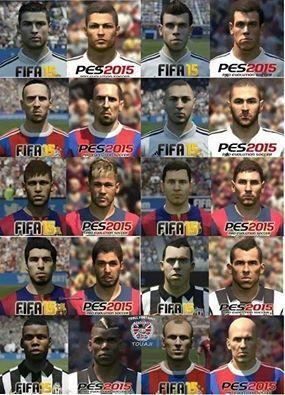 FIFA 15 VS PES 15