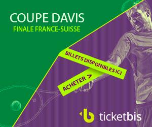 Finale COUPE DAVIS France Suisse 2014