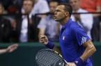 France Tsonga coupe Davis