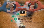 Gasquet - Federer  video match Finale France Suisse