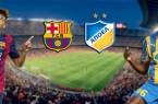 Vidéo buts Barcelone Nicosie