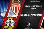 chaine TV Monaco Leverkusen
