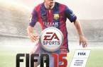 xbox360 Lionel Messi couverture FIFA 15