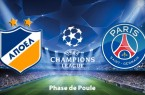 Apoel Nicosie PSG streaming