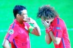 Thiago Silva et David Luiz