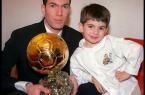 Zinedine Zidane et Enzo Zidane