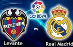 Vidéo buts Levante Real Madrid