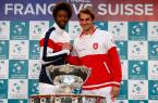 Roger Federer Gael Monfils
