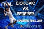 match Finale Djokovic Federer-master-londres 2014