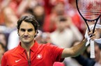 swiss player Roger Federer