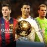 messi Cristiano ronaldo et Neuer pour la dernière ligne droite Ballon d'or 2014