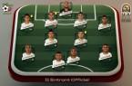 Composition 11 algérie contre sénégal