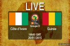 Cote d'Ivoire Guinée streaming