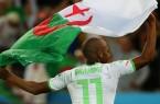 yacine Brahimi Algérie drapeau