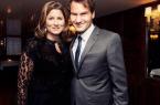 Roger et Mirka Federer