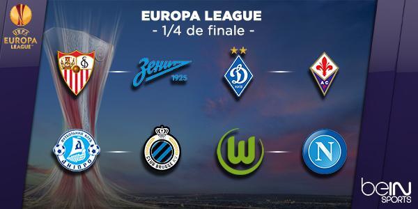 Tirage au sort 1 4 finale europa league 2015 coupe du monde 2018 football fifa russie - Resultat coupe europa league ...
