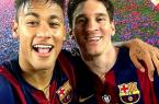 cauchemars de Lioenl messi selfie de neymar et de messi