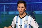 statue de cire de Lionel Messi statue